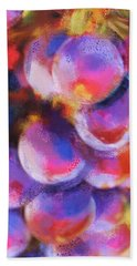 Beach Towel featuring the painting Wrath Of Grapes by Deborah Boyd