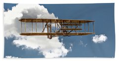 Wright Brothers First Flight Beach Towel