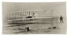 Wright Brothers - First In Flight Beach Towel