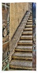 Wrigley's Bronze Doors By Diana Sainz Beach Sheet