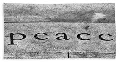 Written In Stone Beach Towel