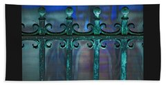 Wrought Iron Beach Sheet by Rowana Ray