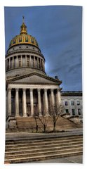 Wv Capital Building 2 Beach Towel
