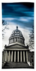 Wv State Capitol Building Beach Sheet by Shane Holsclaw