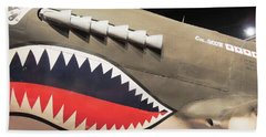 Wwii Shark Beach Towel