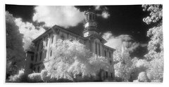 Wyoming County Courthouse Beach Towel