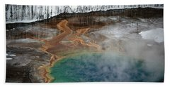 Wyoming - Yellowstone National Park Beach Towel