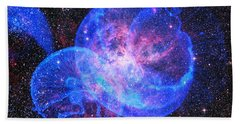 X-factor In Universe. Strangers In The Night Beach Towel