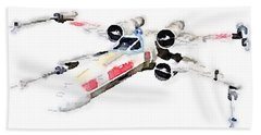 X-wing Beach Towel