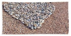 Xeriscape Heart Beach Towel