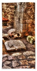 Beach Sheet featuring the photograph Stones That Don't Lie - Israel by Doc Braham