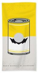 Y Mario Warhols Minimal Can Poster-wario Beach Towel