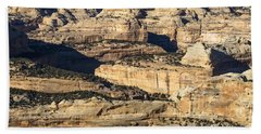 Yampa River Canyon In Dinosaur National Monument Beach Towel by Nadja Rider