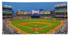 Yankee Stadium Beach Towel