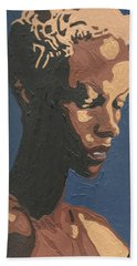 Yasmin Warsame Beach Towel