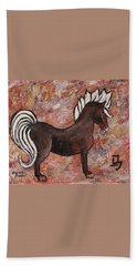 Year Of The Horse Beach Towel