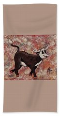Year Of The Ox Beach Towel