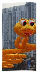 Year Of The Snake Beach Towel
