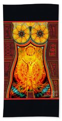Beach Towel featuring the drawing Yearning-spirit Rising by Joseph J Stevens