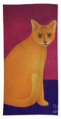 Yellow Cat Beach Sheet