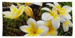 Yellow Flowers 1 Beach Towel