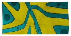 Yellow People Beach Towel