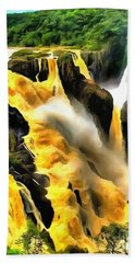 Yellow River Beach Towel