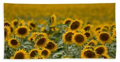 Beach Towel featuring the photograph Yellow by Ronda Kimbrow