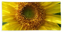 Beach Towel featuring the photograph Yellow Sunshine by Neal Eslinger