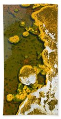 Yellowstone Abstract Beach Towel