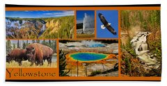 Yellowstone National Park Beach Sheet
