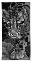 Yim - The Clouded Leopard Beach Sheet