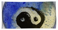 Yin Yang Painting Beach Towel by Peter v Quenter
