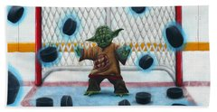 Yoda Saves Everything Beach Sheet by Marlon Huynh