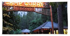 Yosemite Curry Village Beach Towel