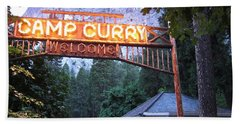 Yosemite Curry Village Beach Towel