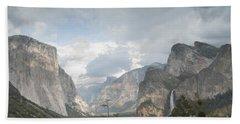 Yosemite National Park Beach Sheet by Juli Scalzi