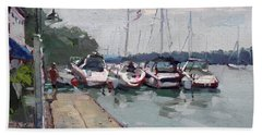 Youngstown Yachts Beach Towel