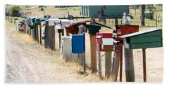 You've Got Mail Beach Sheet