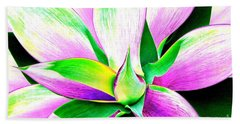 Yucca Abstract Beach Towel
