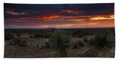 Yucca Sunset Beach Towel
