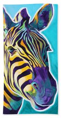 Zebra - Sunrise Beach Towel