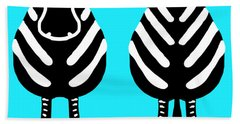 Zebra - Both Ends Beach Towel