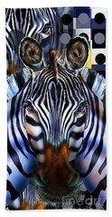 Zebra Dreams Beach Sheet