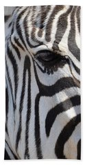 Zebra Eye Abstract Beach Sheet