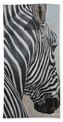 Zebra Look Beach Towel