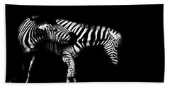 Zebra Stripes Beach Towel by Martin Newman