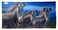 Zebras Beach Towel