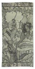 Zen Orchids Beach Sheet