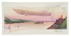Zeppelin, Published Paris, 1914 Beach Sheet by Ernest Montaut